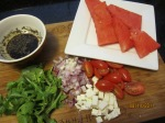 Watermelon ingredients