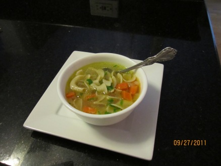 Lighter Chicken Noodle 1
