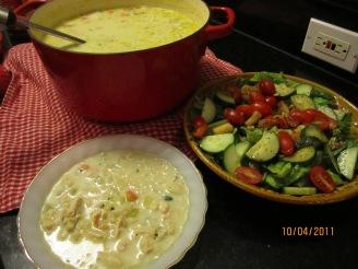 Cream of chicken soup ligth 010