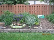 2012 Back Garden after