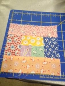 4 baby quilt block