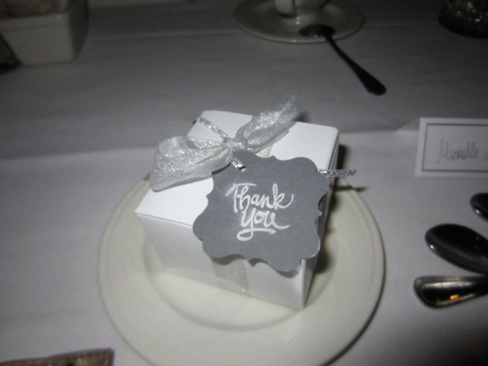 Wedding Take Away Gifts: Wedding Reception Take-Away