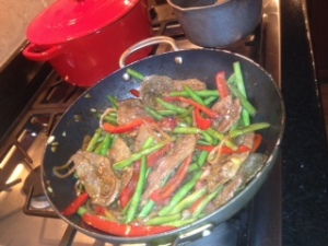 Steak stir fry 1