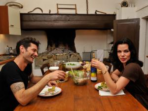 2013 Gabriele Corcos and Debi Mazar