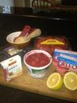 2013 Strawberry Jello Mold low cal