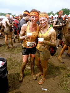 Dana & Allison Tough Mudders