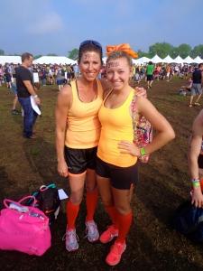 Dana & Allison Pre mudder