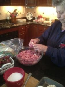 2013 Grandma stuffed peppers