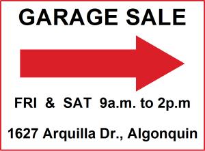 2015 Garage Sale