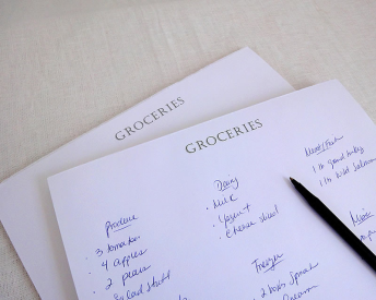 2016 LTC Meal Planning Grocery List